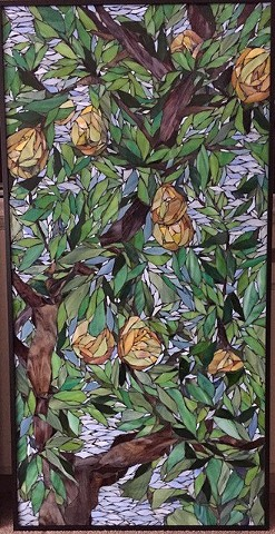 Pear Tree (Commission at St. Joe's Mercy Hospital, Pontiac, Michigan)