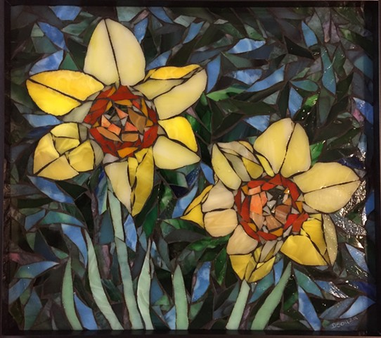 Yellow Daffodils (At SEMVA Art Gallery, Rochester, MN)