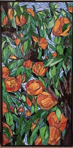 Peach Tree (Commission at St. Joe's Mercy Hospital, Pontiac, Michigan)