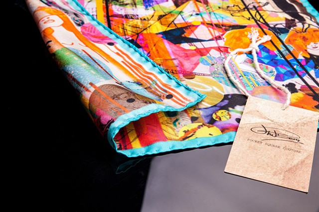 Urban Cavaliers pocket square collection 2014