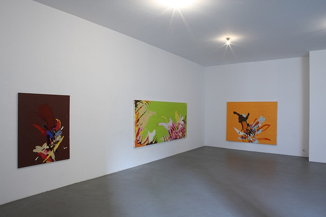 Installation shot, Galerie Schmidt Maczollek 2008