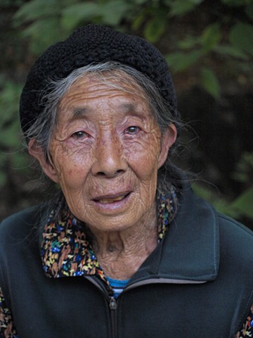 Elderly Chinese woman