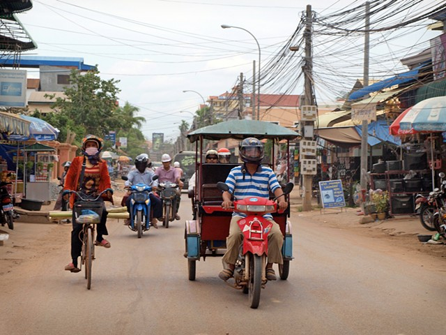 Siem Reap traffic