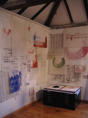 %Dearest% drawing and research poject in progress in the studio