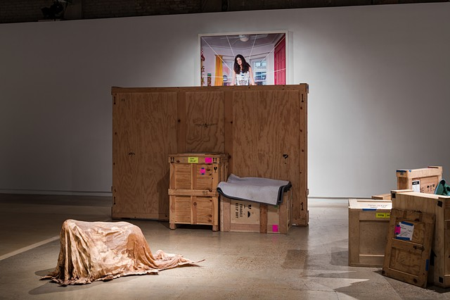 Installation view (Motherhood)