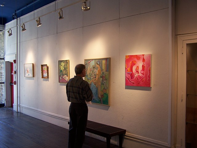 Cheltenham Center for the Arts; Abstract Art, Juried show, Color Field Painting