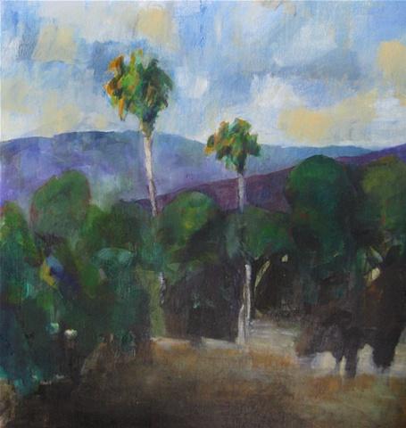 Palms, Evening, Alameda