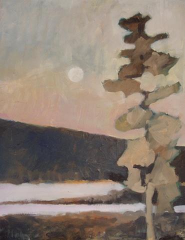 Pine, Moon