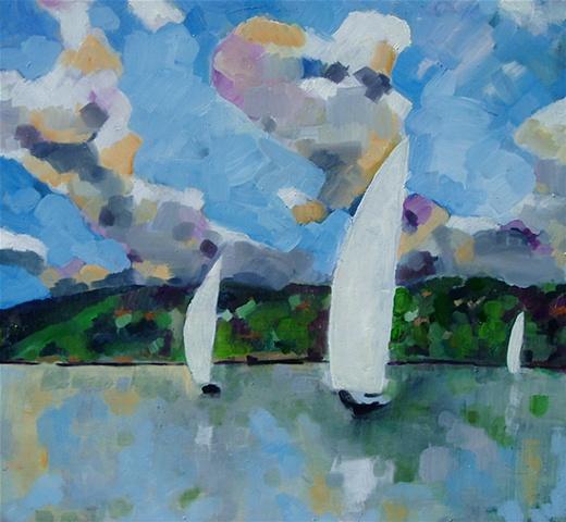 Sails and Hillside
