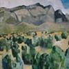 Sandia Mountain Triptych (Center)