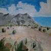 Sandia Mountain Triptych (Right)