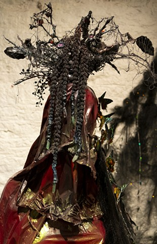 Crown for a Dirt Goddess (detail)
