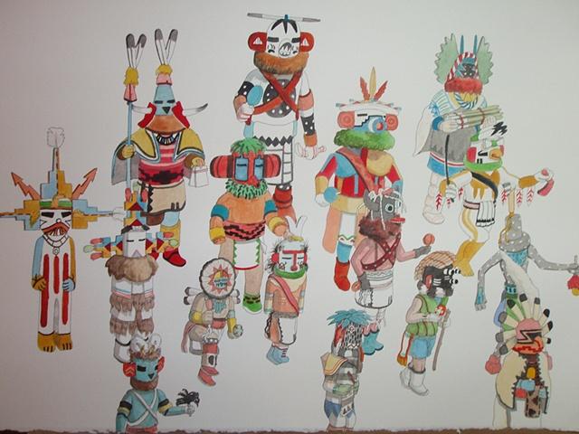 Natives Totems