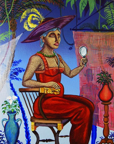 Pregnant Woman in the Tropics