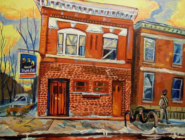 InnerTown pub... classic art school stomping ground