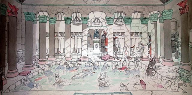 Bathhouse murder