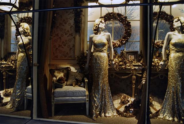 Holiday Window Display, 5th Avenue