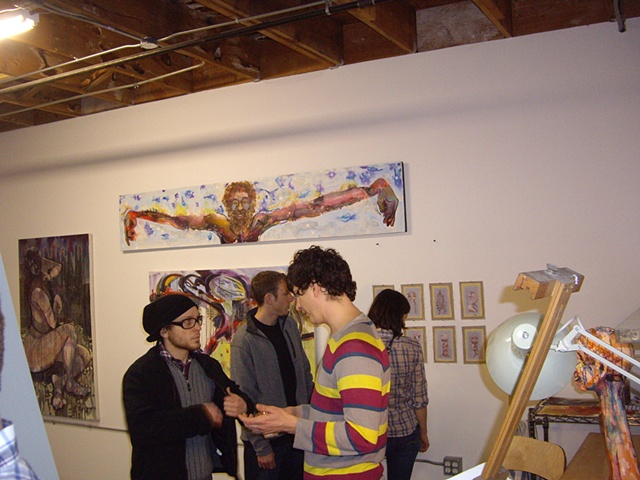 Open Studio, Feb. 2010