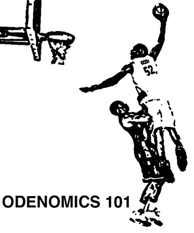Odenomics 101 (t-shirt design)