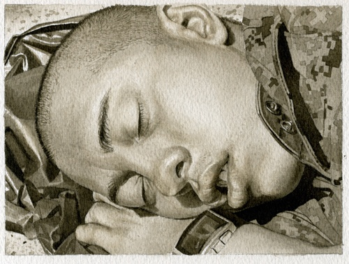 Sleeping Marine 2