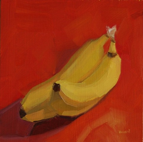 oil painting banana patti vincent