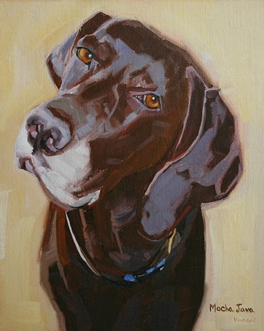 dog painting, oil painting, pet portrait commission, commission