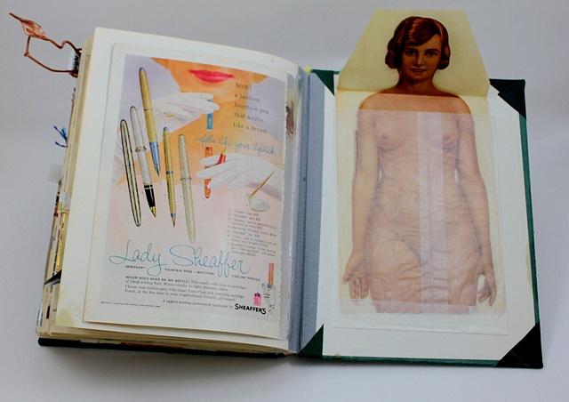 Lady Sheaffer/inside back cover