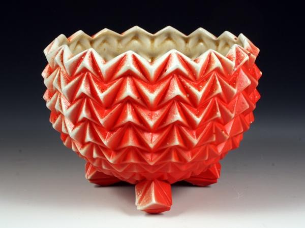 Large Red Bowl