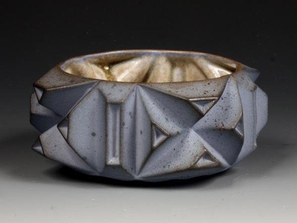 Blue Geome(tea)bowl