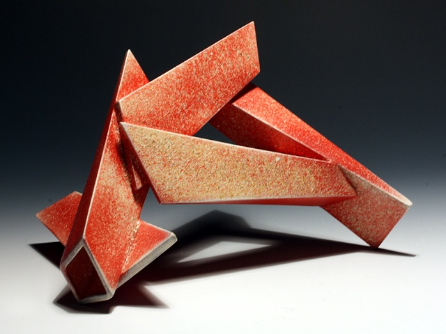 Untitled Red Sculpture