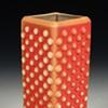 Pink Bubble Vase