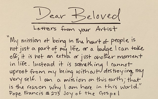 Dear Beloved: Letters from your Artist
