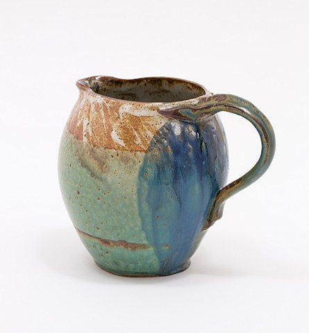 Pitcher - Gecko Handle & Blue