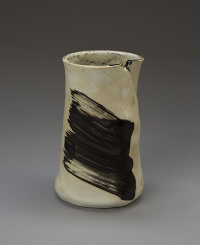 Vase with painterly marks - Side II