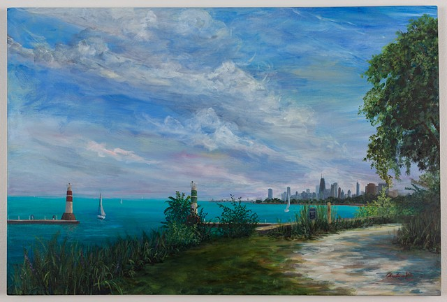 Harbor Gates, Montrose Harbor