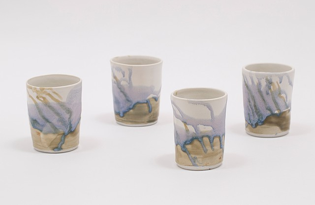 Tumblers (Set of four) - Spring