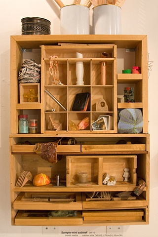 'Sample's - mini cabinet'  from 'Into The Chest'