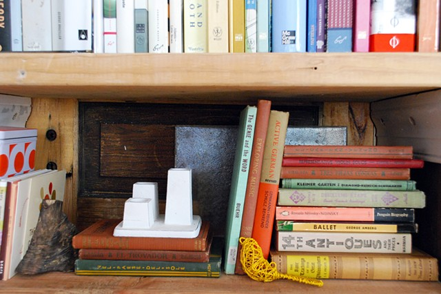 grafted bookshelf