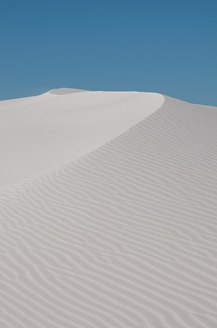 Sand Patterns in the Dunes