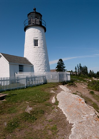Pemaquid Point Lighthouse vertical #1