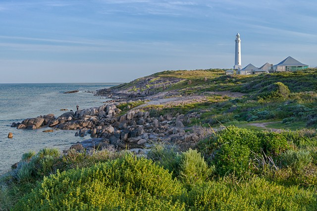 Picturesque scene at Cape Leeuwin on the South Coast of Australia