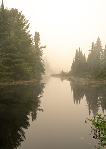 Morning Glow in Algonquin Park, Ontario