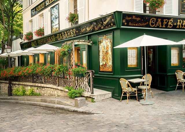 Photograph of La Bonne Franquette in Montmartre