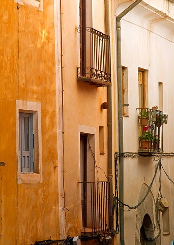 Back Alley off the Main Road - Cuenca Spain