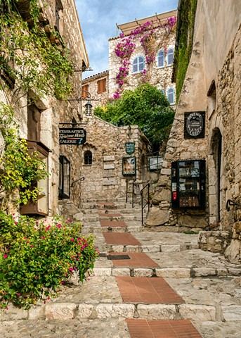 Medieval Town of Eze Village in the French Riviera