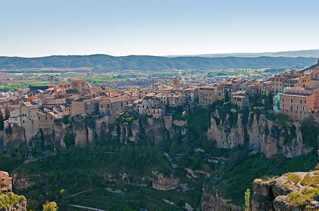 The Edge of the Gorge - Cuenca Spain