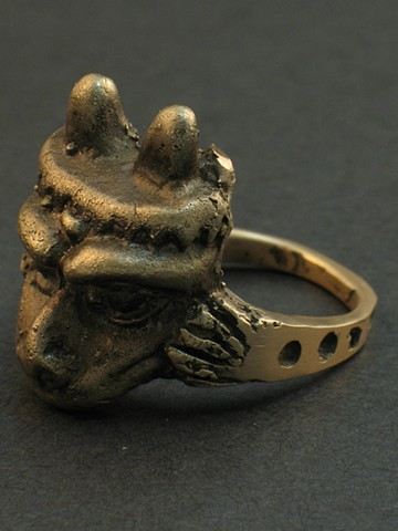 Bronze Ring by Sara Reeder