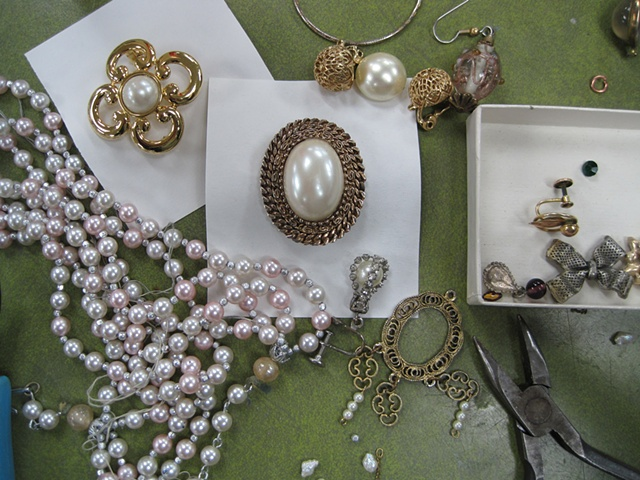 Costume Jewelry pieces