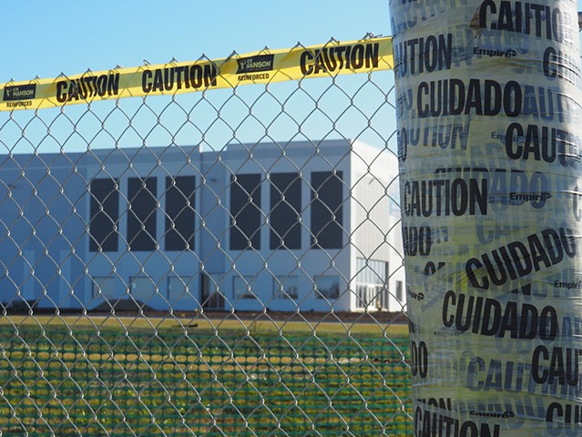 Warehouse Caution Tape