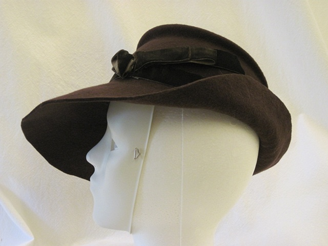 Felt Hat Side View